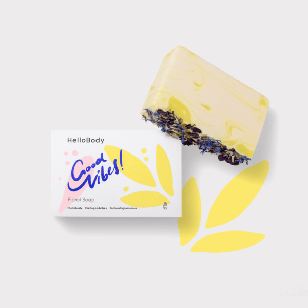 Good Vibes Floral Soap
