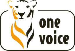 Logo of the association OneVoice